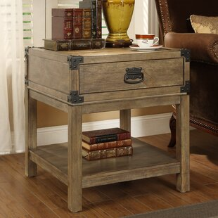 Griton End Table With Storage