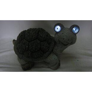 Alpine Solar Turtle Statue
