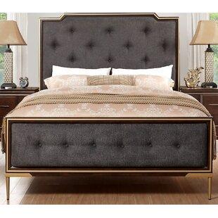 Mercer41 Ceres Upholstered Panel Bed