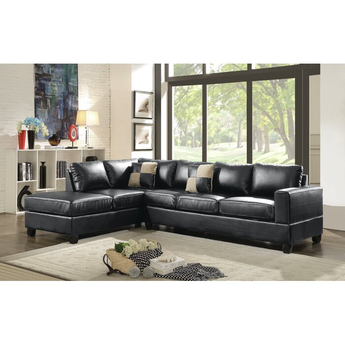 Superb Bruns Reversible Sectional Gmtry Best Dining Table And Chair Ideas Images Gmtryco