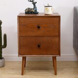Southbury 2 Drawer Nightstand by George Oliver