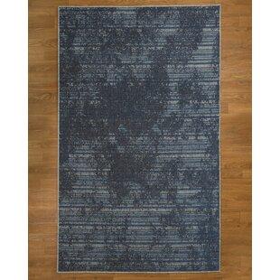 Best Reviews Riley Blue/Black Area Rug ByNatural Area Rugs