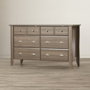 Revere 6 Drawer Double Dresser by Andover Mills