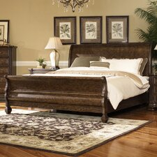 Alexander Sleigh Bed by Sage Avenue
