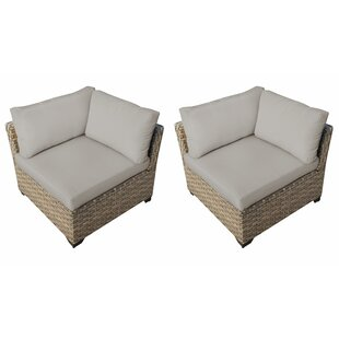 Monterey Patio Chair with Cushions (Set of 2)