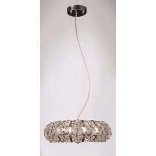Goldblatt 6-Light Crystal Chandelier by B..