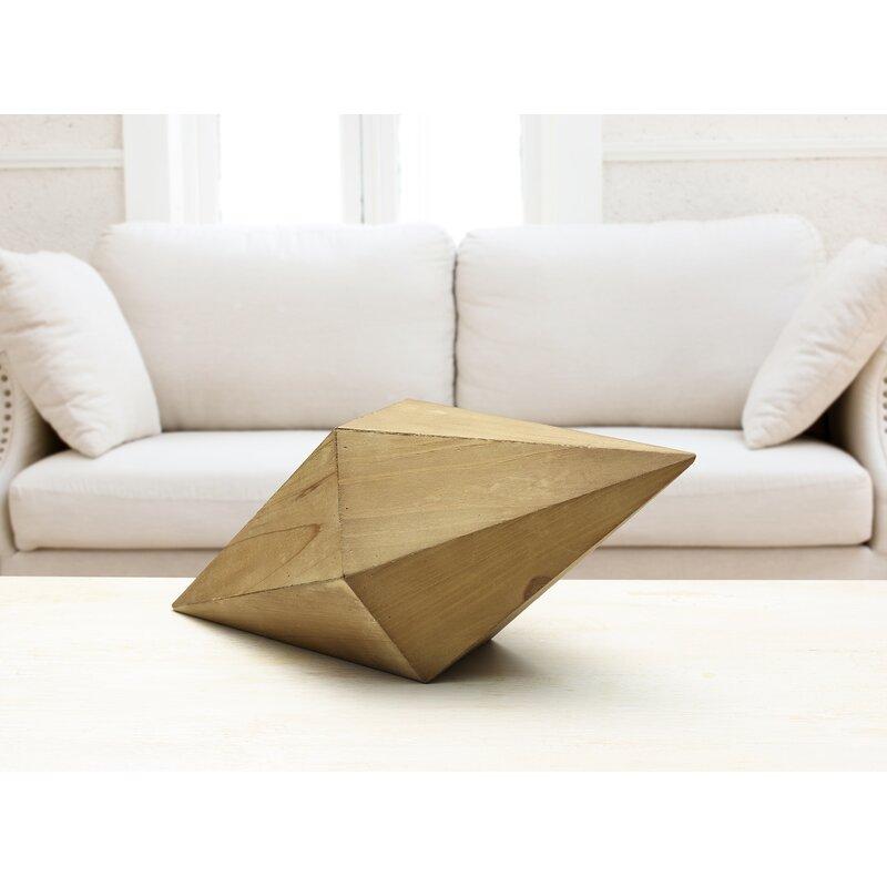 Scott Living Oasis Wood Diamond Table