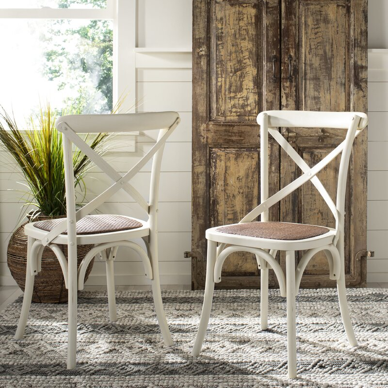 Carterville Solid Wood Dining Chair - Come explore White French Home Decor for Fans of Country Interiors!
