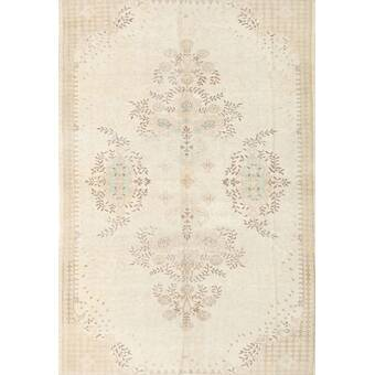17 Stories Bachman Abstract Hand Knotted Taupe Gray Area Rug Wayfair