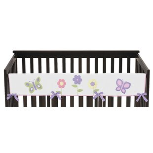 Affordable Butterfly Long Crib Rail Guard Cover BySweet Jojo Designs