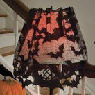 """The Holiday Aisle Going Batty 60"""" Polyester Empire Lamp Shade"""