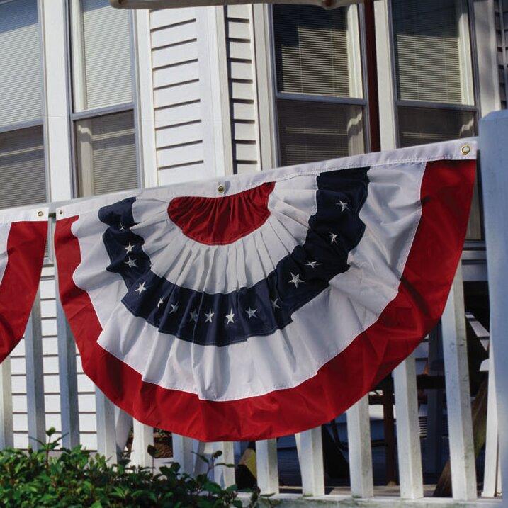 Patriotic Bunting Flag