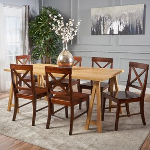 Williamsville Farmhouse 7 Piece Dining Se..