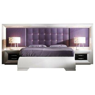 Rosdorf Park Glenoe Special Headboard Platform 4 Piece Bedroom Set