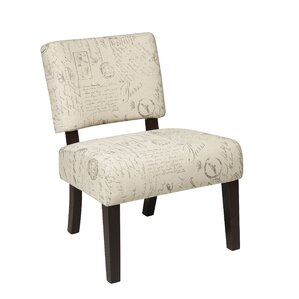 Jasmine Accent Chair in Script by Office Sta..