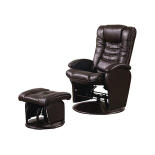 Vanceboro Glider Recliner with Ottoman