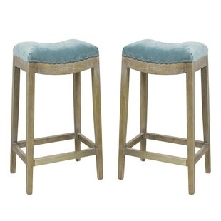 Boydton 22 Bar Stool Set of 2 by Gracie Oaks