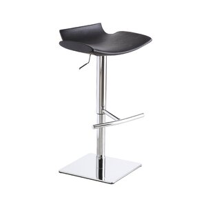 Donora Adjustable Height Swivel Bar Stool by Wade Logan