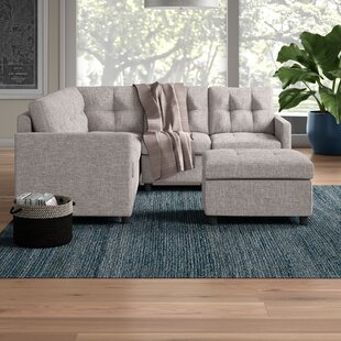 Dolly Modular Sectional with Ottoman by Brayden Studio