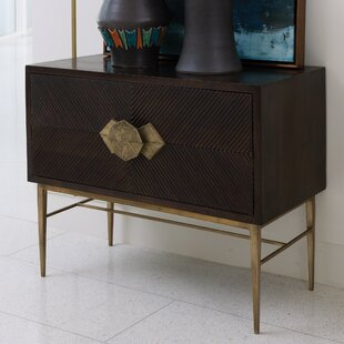 Global Views Galapagos 2 Drawer Accent Chest