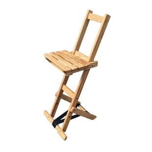 Adjustable Height Bar Stool by Blue Ridge Chair Works