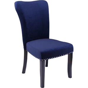 Navy Blue Dining Room Chairs | Wayfair