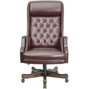 Woolum Genuine Leather Executive Chair