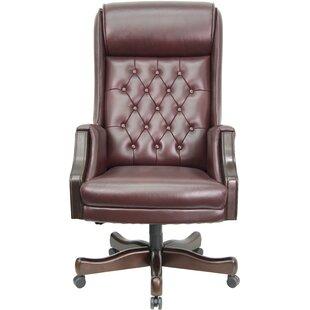 Woolum Genuine Leather Executive Chair