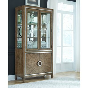 House of Hampton Newt Dining Curio Cabinet