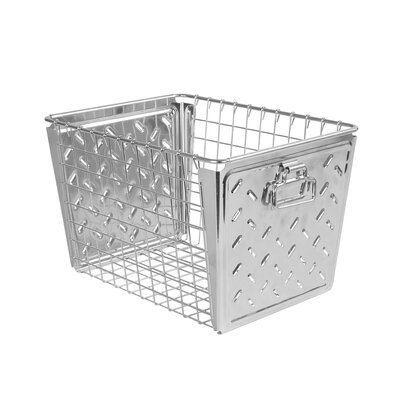 Turn on the Brights Metal Basket Color: Zinc Plated