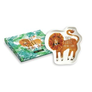 Price Check Be Wild Lion - You're Cute I'm Not Lion Jewelry Tray By Rosanna