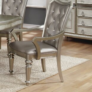 Barrowman Upholstered Dining Chair (Set of 2) Astoria Grand