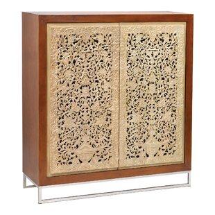 Aruna 2 Door Accent Cabinet by Bungalow Rose