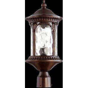 Fleur De Lis Living Witte 1-Light Lantern Head