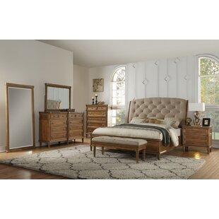 Gracie Oaks Haledon Upholstered Sleigh Bed