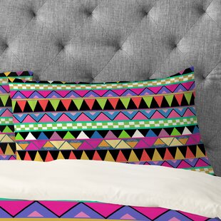 Bianca Green Zigzag Pillowcase
