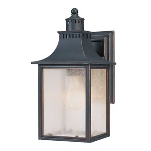 Great choice Kennett 1-Light Outdoor Wall Lantern By Laurel Foundry Modern Farmhouse