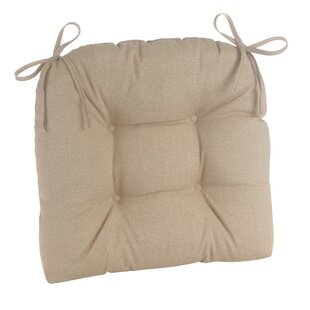 Indoor/Outdoor Patterned Extra Large Lounge Chair Cushion