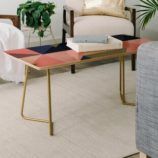 Compare Mareike Boehmer Color Blocking Minimal Coffee Table by East Urban Home Reviews (2019) & Buyer's Guide