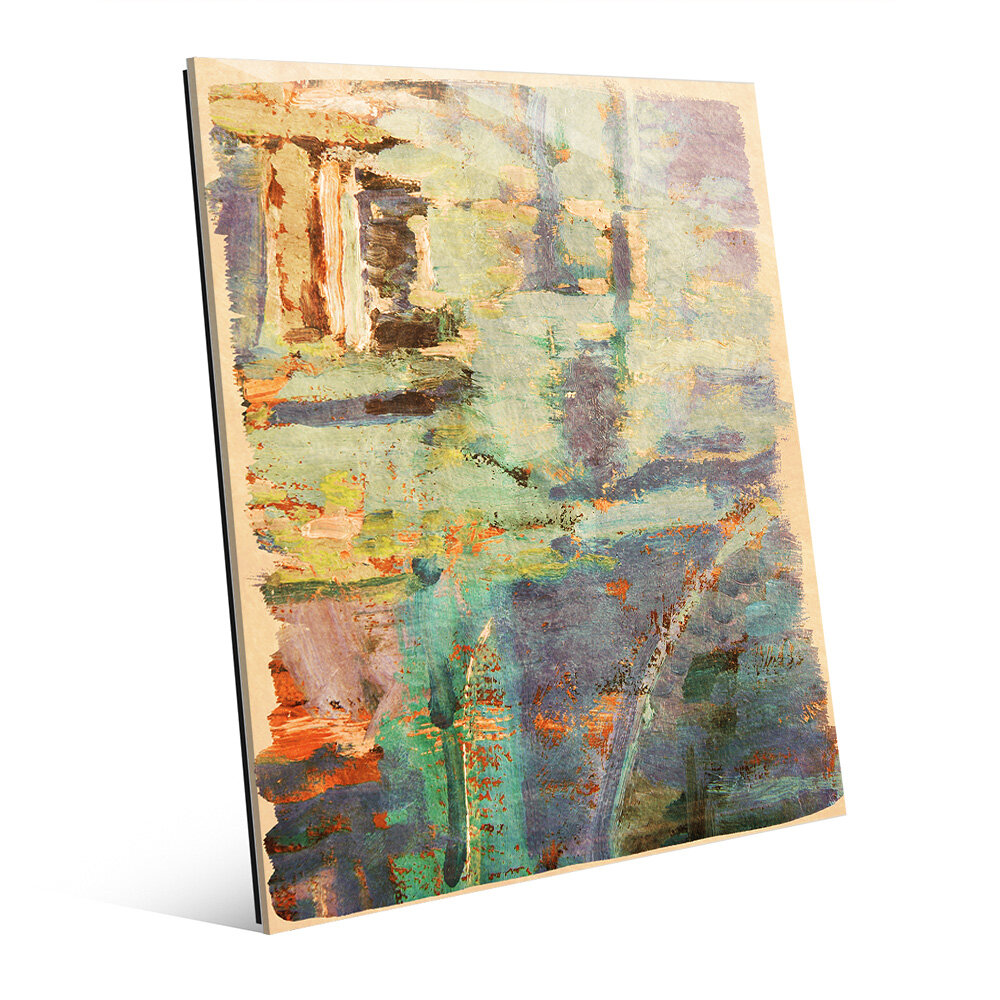 Click Wall Art Box Of Seafoam Memories Painting Print Wayfair