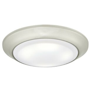 Eastway 1-Light LED Flush ..