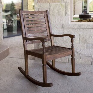 Ordinaire Solid Oak Rocking Chair | Wayfair