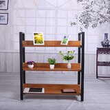 Annetrude 40'' H x 43'' W Metal Etagere Bookcase by Ebern Designs