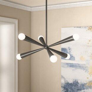 Willa Arlo Interiors Broomfield 6-Light Chandelier