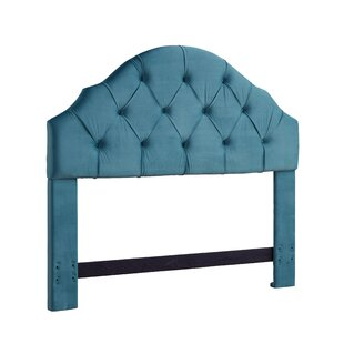 Everett Upholstered Panel Headboard by Alcott Hill