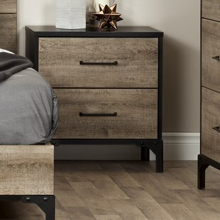 Valet 2 Drawer Nightstand