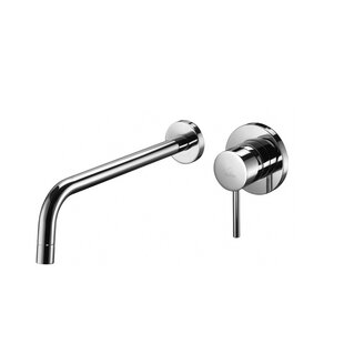 WS Bath Collections Light Wall mounted Bathroom Faucet
