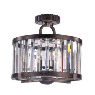 Kalco Foster 4-Light Semi Flush Mount