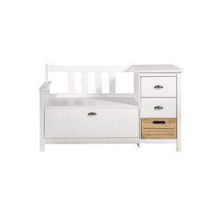 Highland Dunes Hardouin Storage Bench