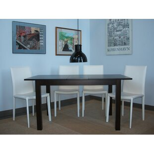 Moderna 5 Piece Extendable Dining Set